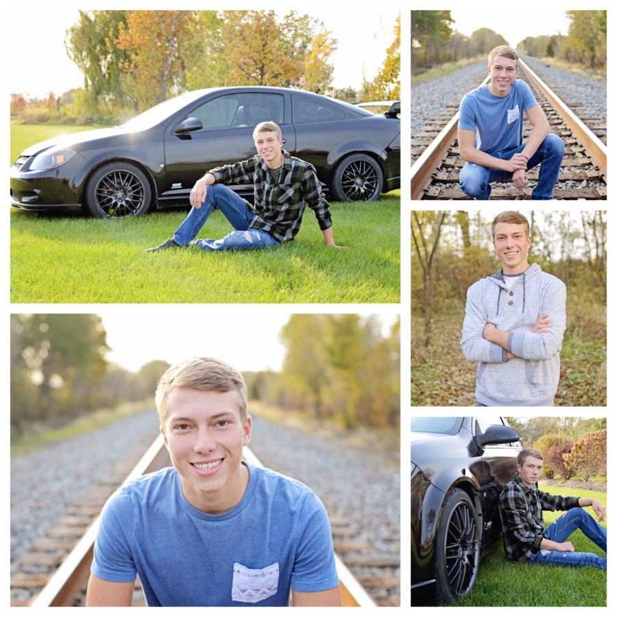 Senior Portraits, Senior portraits with car