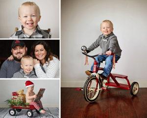 2 Year old portraits, Columbia City Photographer, Christmas Portraits