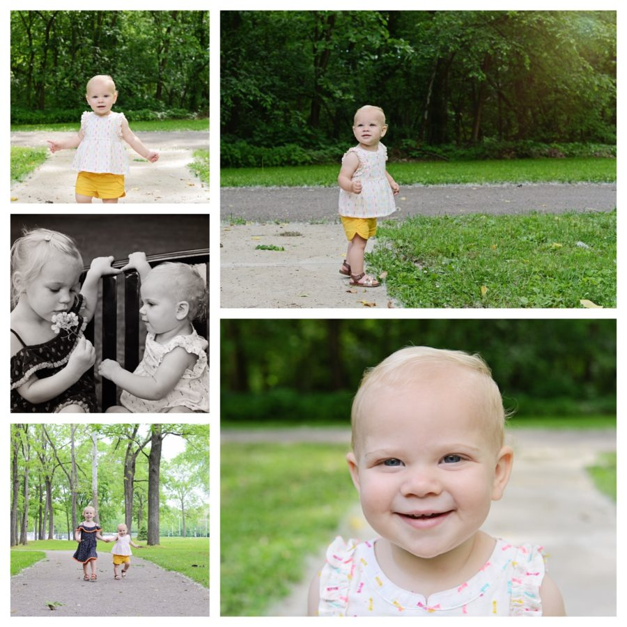 One Year Old Portraits