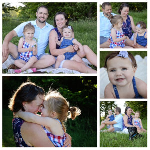 candid family portraits, family of four portraits, Sheets Photography